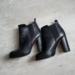 Sam edelman chunky heel boots